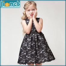 Buy 2016 Summer Holiday Party Children girls clothes Fashion Floral Lace Girl Dress Sleeveless Baby Girls Dress Teenage Kids Dresses for $9.49 in AliExpress store