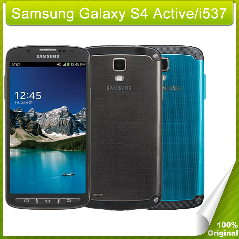 Unlocked Samsung Galaxy S4 Active / i537 SmartPhone 5.0 inch Android 4.2 Support NFC Refurbished LTE 4G Network(China (Mainland))