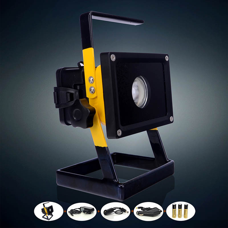 2015 Best 2400Lm Portable Floodlight Led 30w Rechargeable