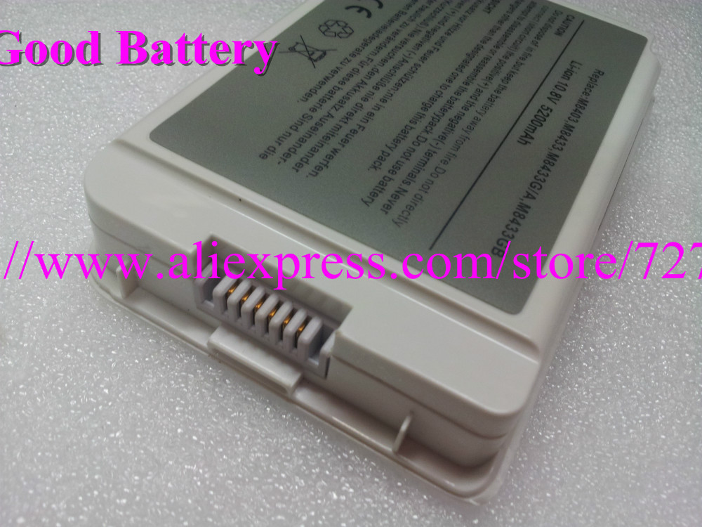 """New laptop battery for Apple iBook G3 G4 12"""" A1061 A1008 M8403 M8433G/A M8626GA M8956G/A M9337G/A,6 cells,(China (Mainland))"""