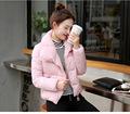 Winter Coat Women Girls Outerwear New 2016 Korean Down jacket Big Pocket Thick Short Cotton Padded
