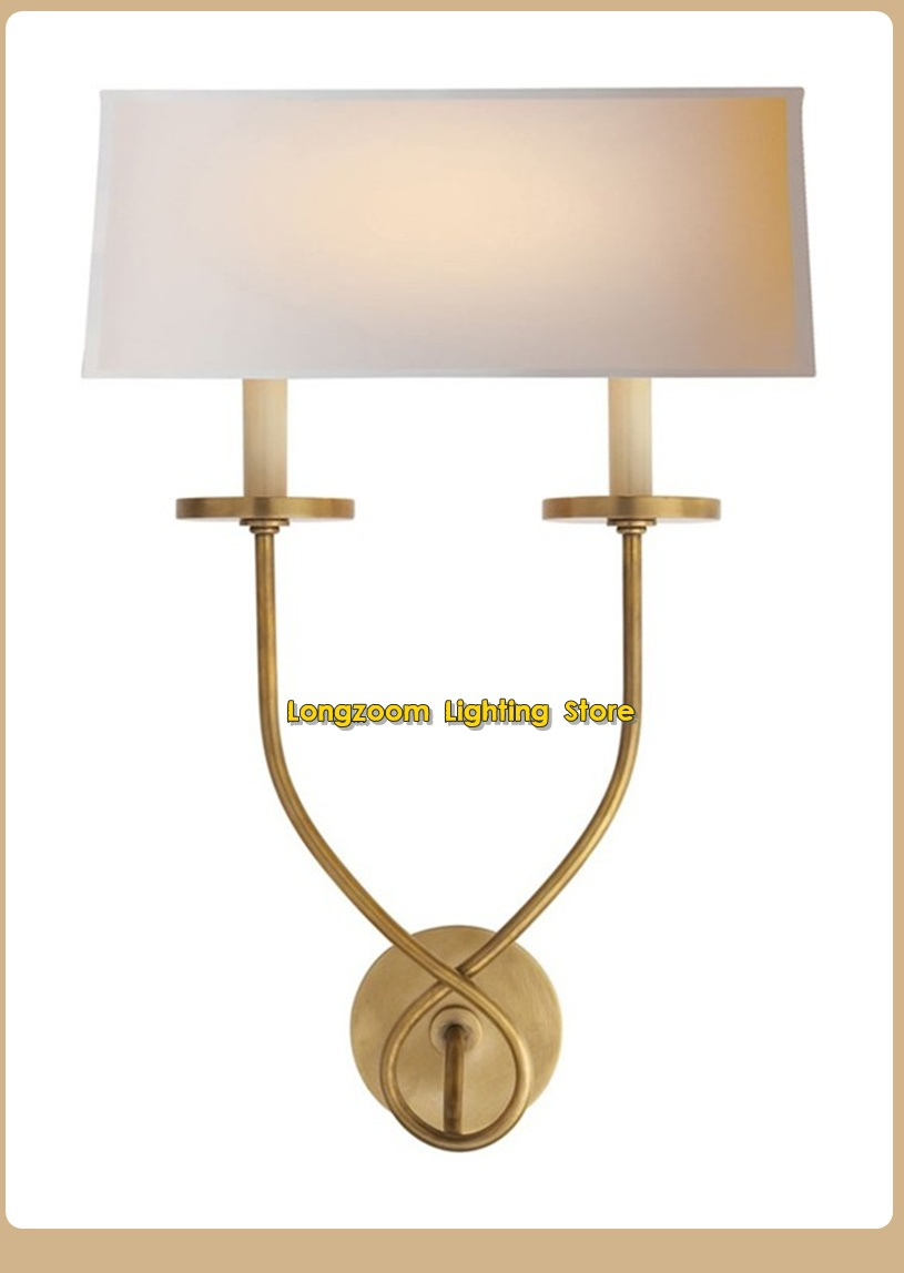 Brass Bedside Wall Lights : Hot-Sale-Courty-USA-Brass-Wall-lights-Antique-Copper-light-Wall-bedside-light-Indoor-Lightings ...