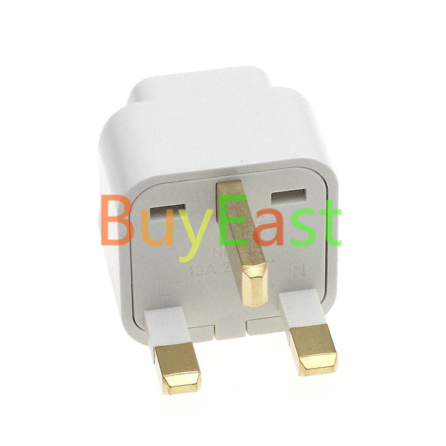 Uk Ireland Malaysia Singapore Hk Travel Adapter Universal Outlet White Color In Outlets From
