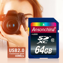 100% Full Size  SD card class 10 Flash card  64GB 32GB 16GB 8GB SDHC Memory Card SD Card microSDXC with Camera tablet PC(China (Mainland))