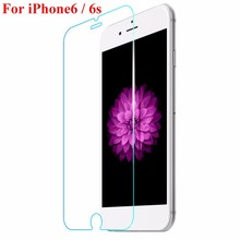 0.25 mm Arc Tempered Glass Screen Protector Film For iPhone 6 6s 4.7 inch Anti Scratch Screen Protector + Cleaning Kit CXF01(China (Mainland))