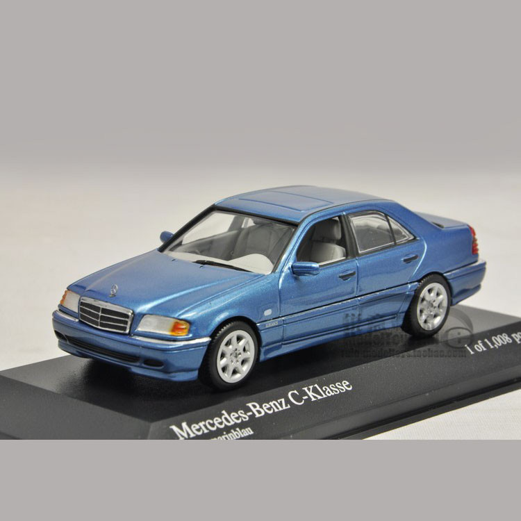 1:43 Mini Minichamps Mercedes Benz Benz class C (W202) 1997 car model(China (Mainland))