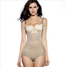 Women's Tummy Control Underbust Slimming Underwear Shapewear Body Shaper Control Waist Training Cincher Firm Bodysuits(China (Mainland))