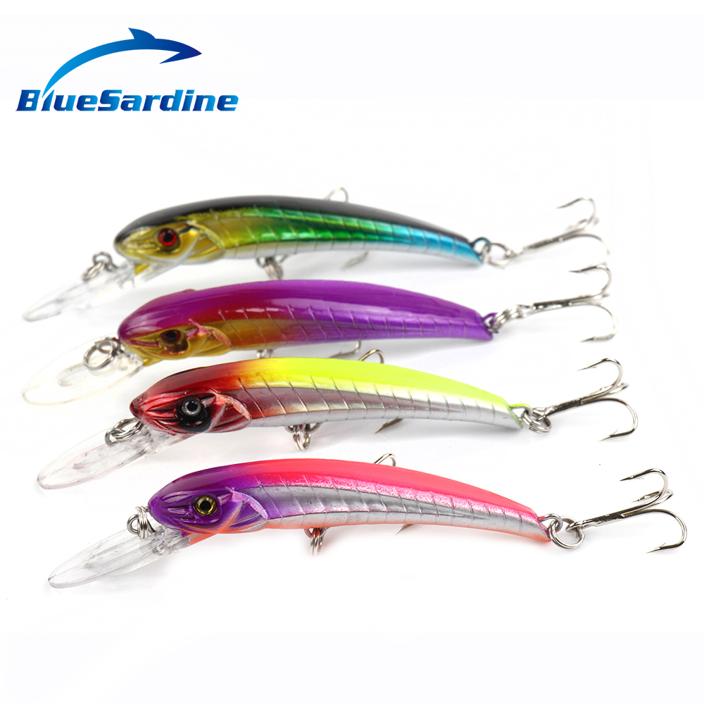 BlueSardine 4PCS 6G 11CM Minnow CrankBait Fishing Lures Hard Bait Isca Artificial Fishing Tackle(China (Mainland))