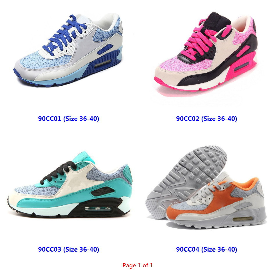 top quality 90 shoes woman's casual sports sneakers zapatillas de mujer girls trainers zapatos womens black white running shoes(China (Mainland))