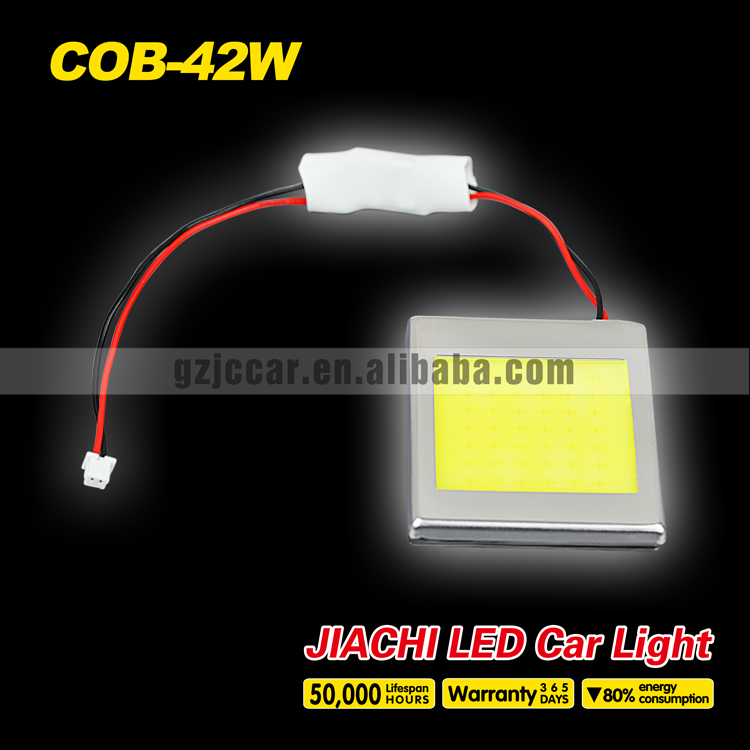 Hottest!!! high lumens produce,100pcs/lot 12 volt led automotive cob 42 dome light cheap price(China (Mainland))