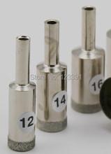 Envío gratis de electrochapado diamante fino estupendo pared agujero consideró la herramienta 17 * 50 * 20 mm para procesamiento de jade pulsera tienda