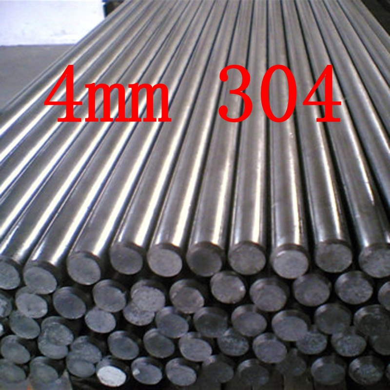 4mm 304 Stainless Steel Round Bar / Rod Grade 304 Stainless Steel Bar(China (Mainland))