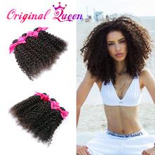 45% discount Rosa hair products Malaysian kinky curly virgin hair 3pcs malaysian curly hair, malaysian virgin human hair weaves(China (Mainland))