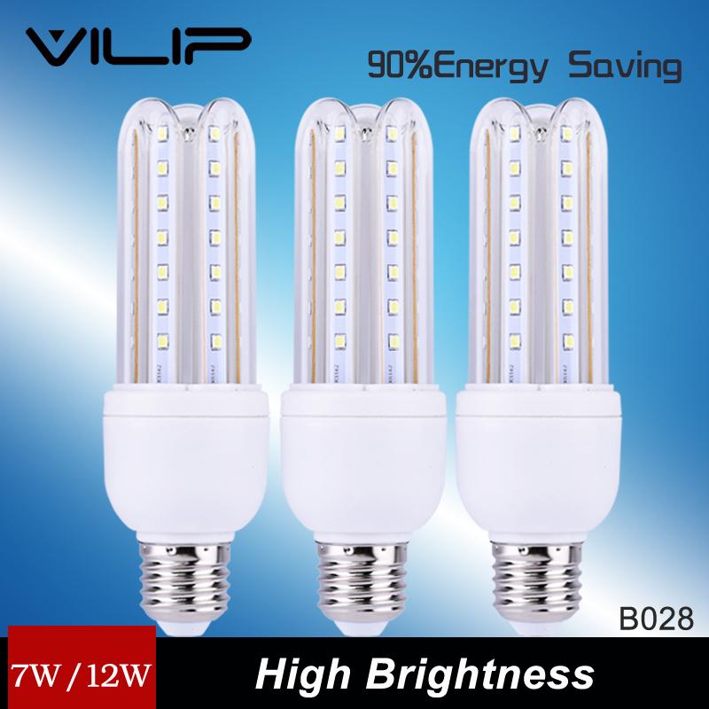 Vilip 2016 Offer Rushed Ce Rohs Epistar 1pcs Lampada Led Bulb Lamp Bombillas E27 7w Super Birght Corn Blub Living Room B028(China (Mainland))