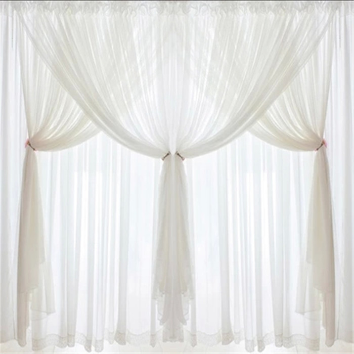 Curtains Voile 3 Layer Curtain