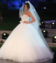 Buy Wedding Dress 2017 Luxury Crystal Beaded White Ball Gown Plus Size Country Western Gowns Bride Bridal Princess Dresses for $180.71 in AliExpress store
