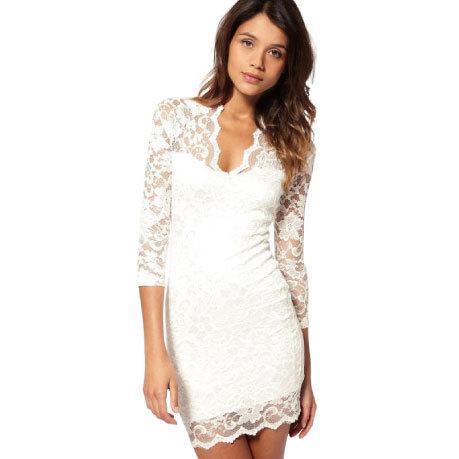 Женское платье v/3/4 SLEELE 4Size usd14.11 RG1208058