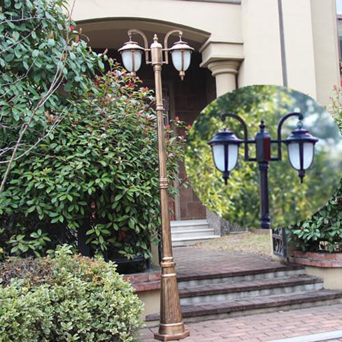 Residential outdoor light poles pole lighting residential for Residential outdoor lighting