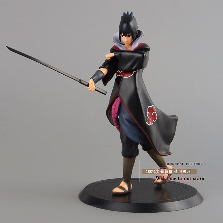 Naruto shippuden Учиха Саске ПВХ действий