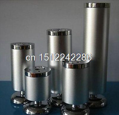 4 Set Height 80mm Metal Furniture Cabinet Table Bed Sofa Leg Feet(China (Mainland))