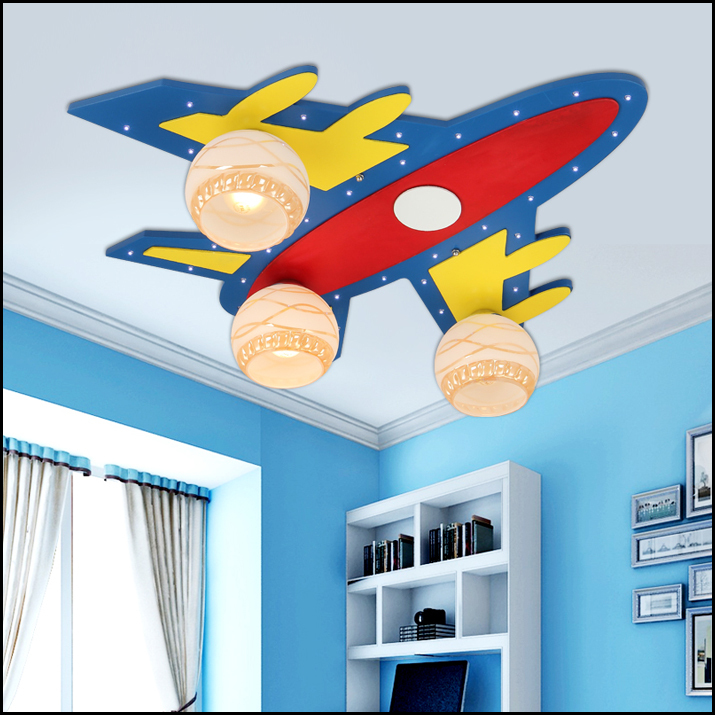 15W Cute Child lamps bedroom lamp boy cartoon led ceiling light(China (Mainland))