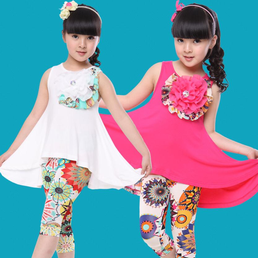 Buy 2016 new summer girls dress for Fabric for kids clothes