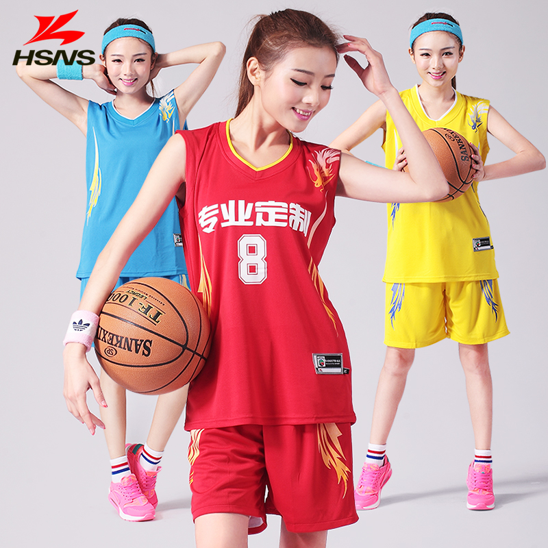 Newest Basketball Jersey Female Football Sportwear Basketball Set Training Game Suit Clothes Custom LOGO Be Printed Quick Dry(China (Mainland))