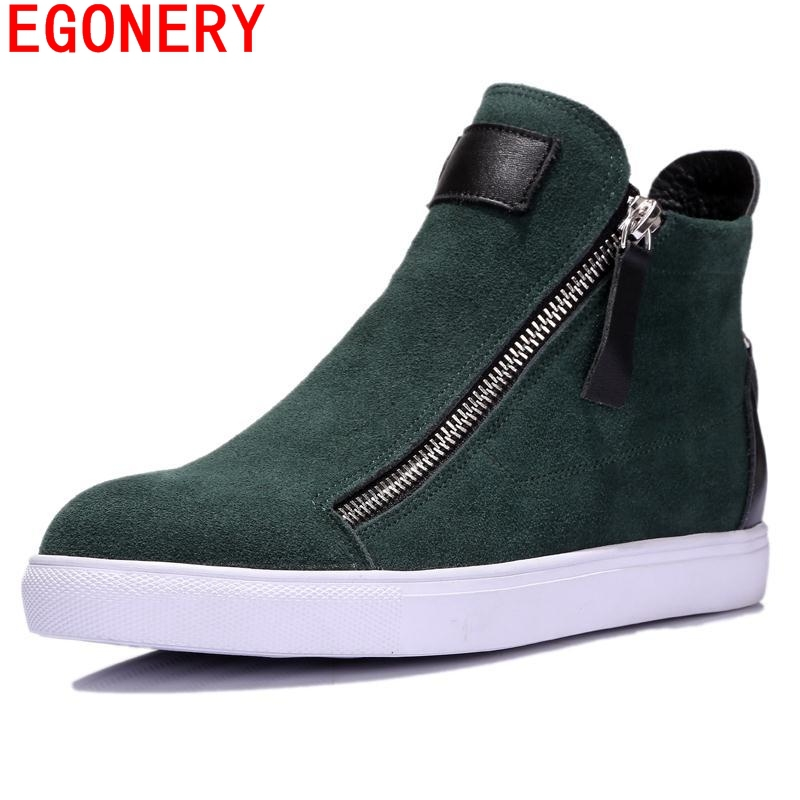 sapatos femininos 2015 winter green coffe women high-en datmosphere short shoes riding equestrian flats ankle boots round toe <br><br>Aliexpress