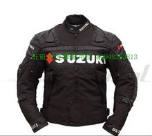 Free shipping! 2015 newest motorcycle off road jackets for suzuki motocross jacket with protective gear drop resistance(China (Mainland))