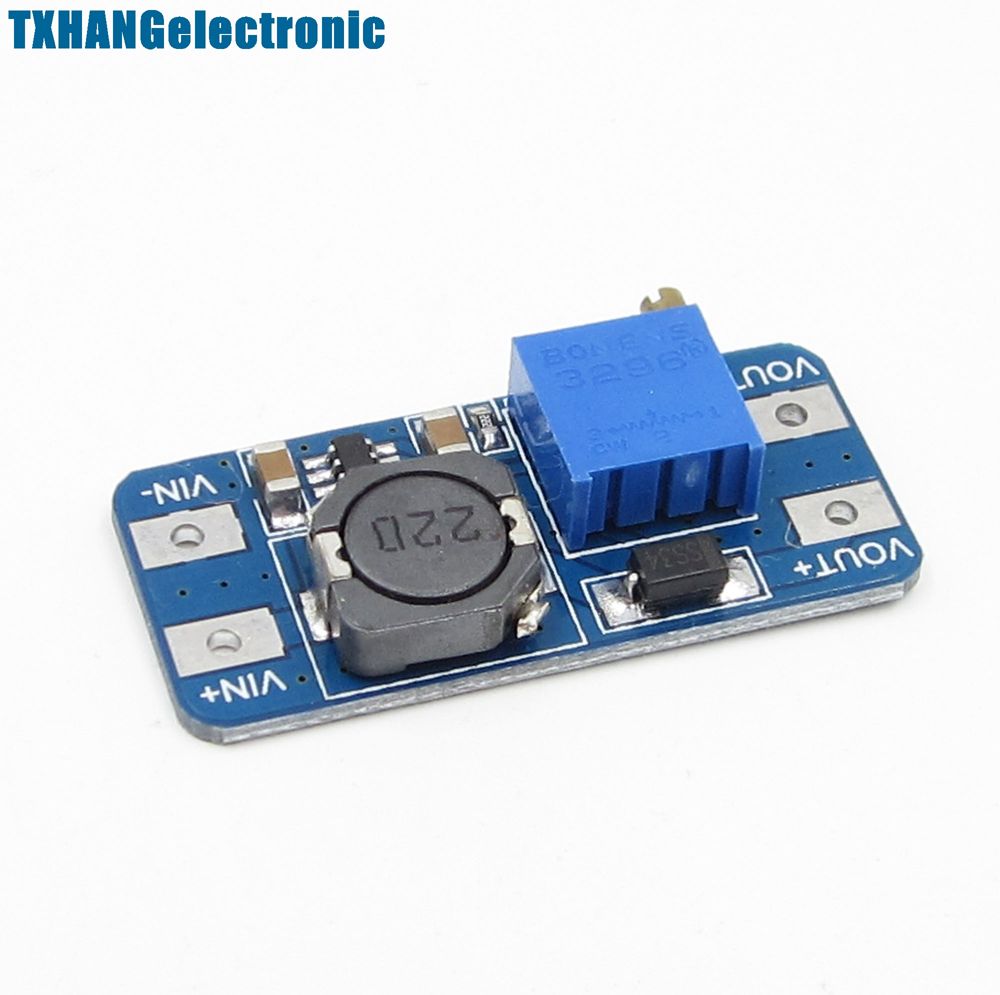10pcs MT3608 ep Power Apply Booer Module DC-DC 2V-24V 2A
