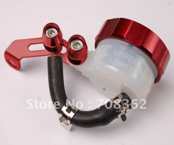 Cool ! Universal fit Brake Fluid Reservoir full set For Hon Da