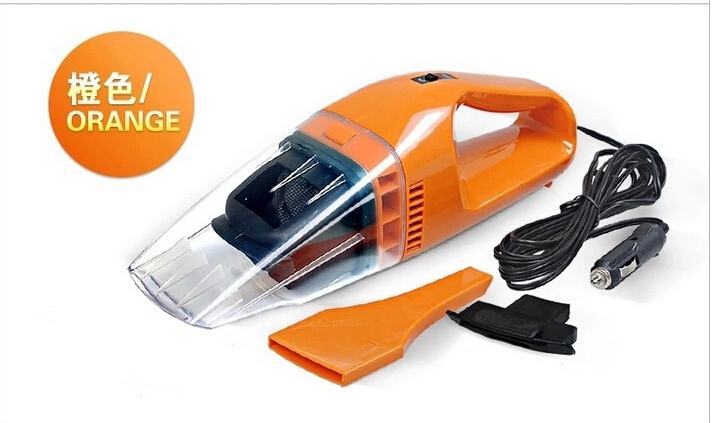 Free Shipping 12V 75W Car Vacuum Cleaner Portable Handheld Wet & Dry Dual-Use Super Suction(China (Mainland))