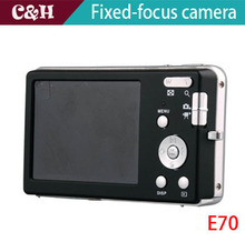 E70 silver 12MP Digital camera with 2.7″ TFT LCD digital video camera + 16G SD Card Free Shipping