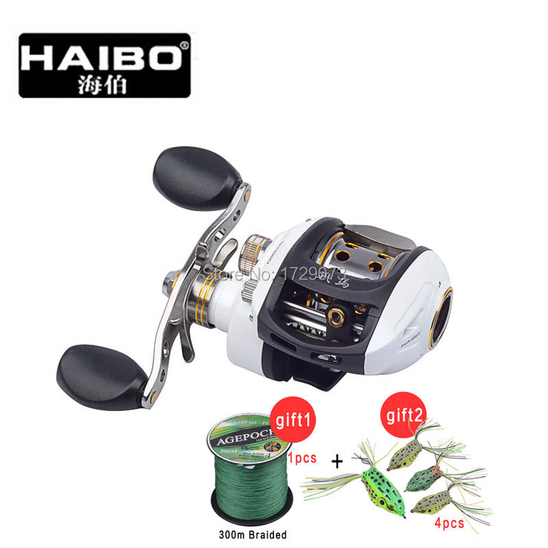Haibo Steed 51cs 8BB Baitcasting Hand Baitcasting Reel Fishing Reel Feeder Carp Cast Equipment Sea Spool Peche Wheel(China (Mainland))