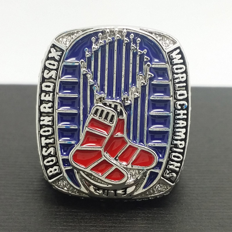 Solid 2013 Boston Red Sox MLB World Series Championship Alloy Ring 11 Size 'Ortiz' Fans Gift Collection - ring store