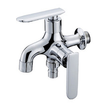 Free shipping Brass Multi-function Cold Tap Washing Machine Faucet Handles Decorative Water Tap Wall torneira grifos SC320(China (Mainland))