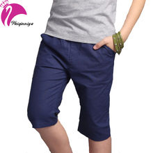 New Arrivals 2016 Korea Style Kids Boys Pants Cotton Linen Summer Loose Casual Knee-Lenght Trousers Children's Boy Clothing(China (Mainland))