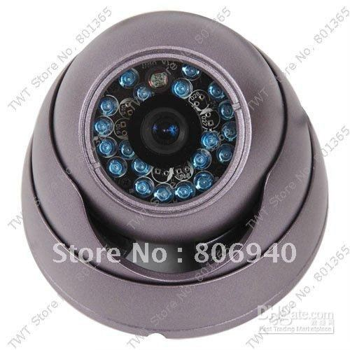10Qty Security Surveillance CCTV Hi resolution 3.6mm wide angle lens security camera(China (Mainland))