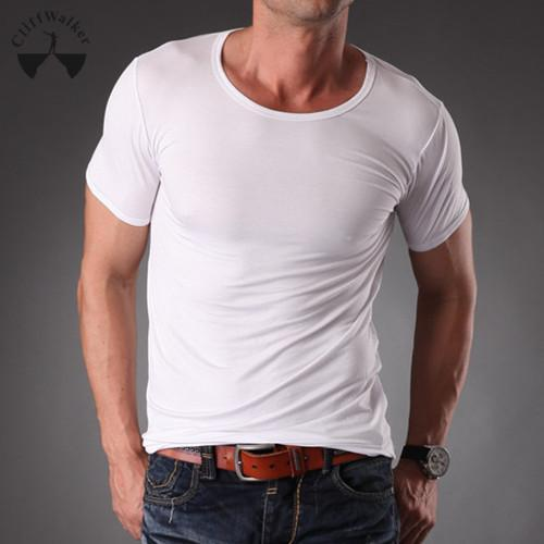 Gray t Shirt Model Black Gray Casual T-shirt