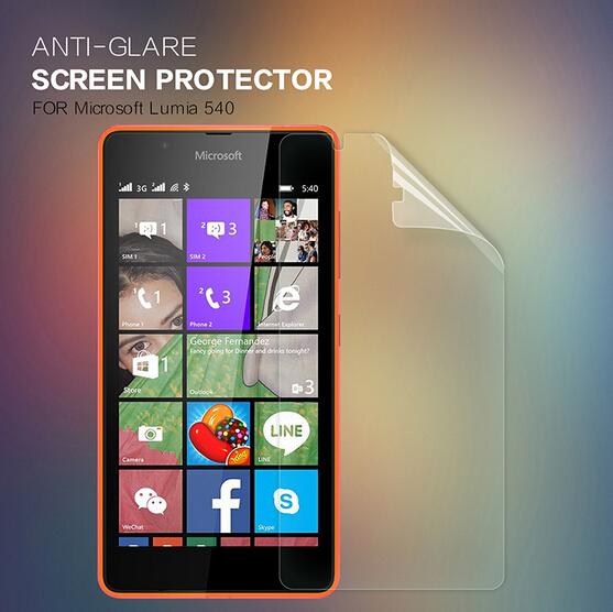все цены на  Nillkin вычистить передние + камера пленка для Microsoft Lumia 540 протектор для Lumia 540 защитная пленка экрана  онлайн