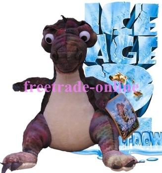 New Stuffed Animals Ice Age Dinosaur Rudy Plush Soft Toys/Gift For Children T-027