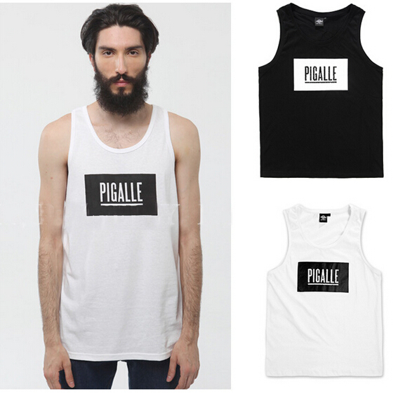 IM Pigalle Box Logo FOOTBAL Graphic T-Shirts PYERX JAY-Z T Shirt yeezy ASAP Rocky pigalle kanye west yeezus 100%cotton(China (Mainland))