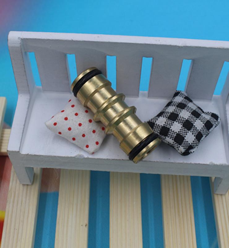 5pcs/lot Brass Garden Hose Repair Hose Mender Connector Adapter For Garden Irrigation OHA1314(China (Mainland))