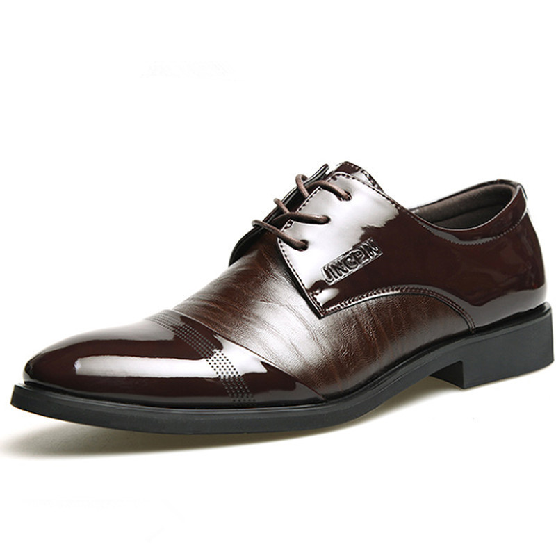New 2015 Oxford Shoes For Men Dress Shoes Leather Office Form Shoes Summer Height Increasing Zapatos Hombre Black Size 38-44(China (Mainland))