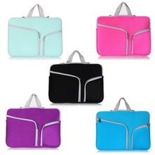 Mac Laptop Cover Case For Macbook Pro Air Retina 11 13 Ultrabook Notebook Sleeve bag Portable zipper bag laptop bag briefcase(China (Mainland))