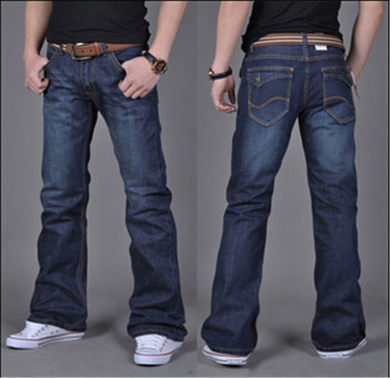 Men's Classic Bootcut Jeans American Eagle Outfitters has been producing the finest quality jeans for over 40 years. Our bootcut jeans have been a staple since the beginning, with a casual flare that looks good with everything from boots to flip flops.
