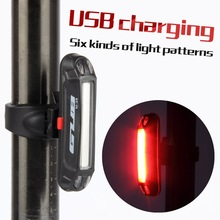 Buy Bicycle Tail light Lamp LED Cycling Bike Rechargeable Seatpost Back Rear Light Safty Warning Waterproof for $9.22 in AliExpress store