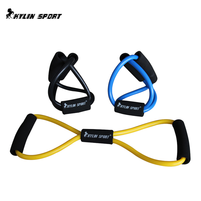 Resistance Loop Band Tube Yoga Pilates Workout Exercise Fitness training equipment fitness gym expander - DIDI IPstore store