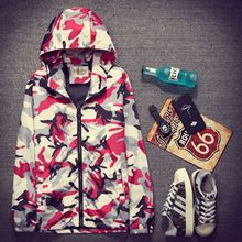 2016 new Spring and summer thin coat male casual camouflage jacket baseball uniform thin jacket sun lovers Edition