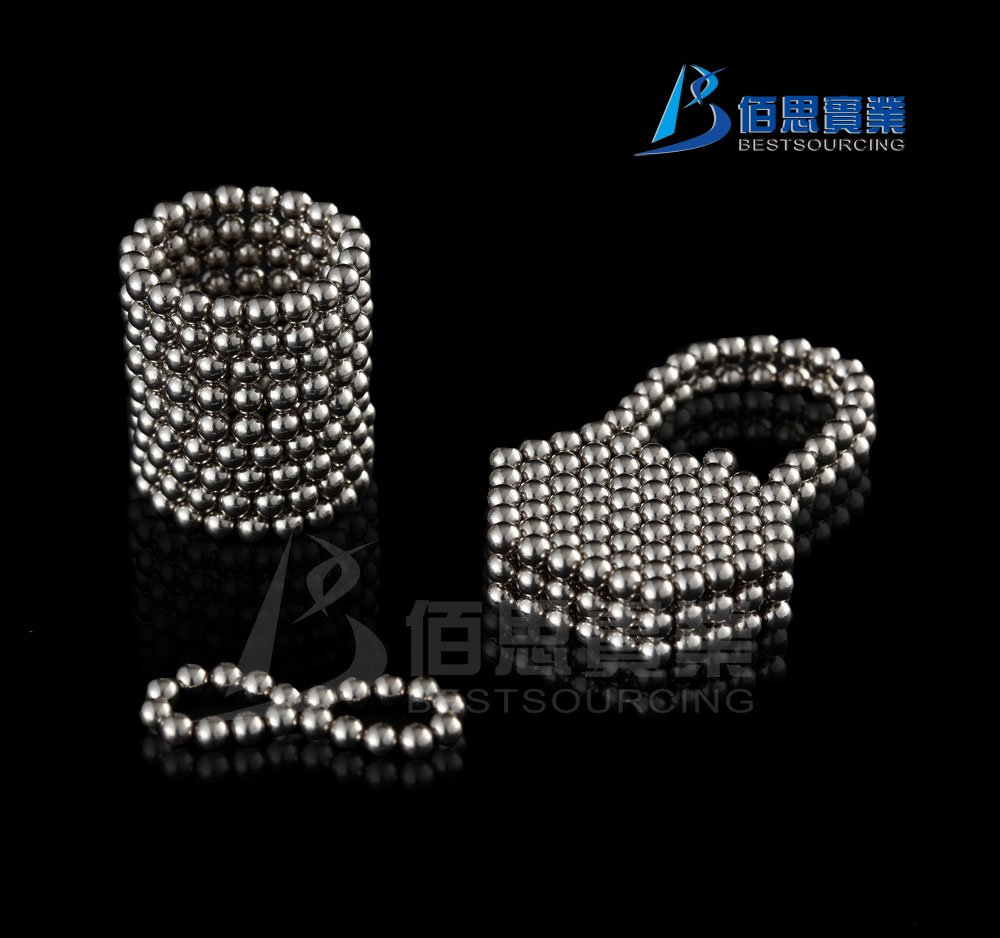 216pcs 3mm Silver Neo Cubes/Magnetic Balls/Neocube Balls(China (Mainland))